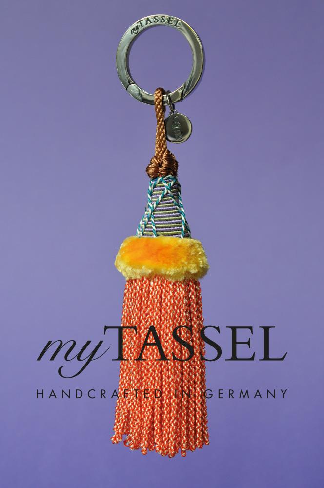 mytassel, quast, bommel, keychain, anhänger, handarbeit, decoration